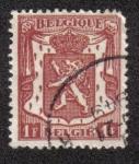 Sellos del Mundo : Europa : Bélgica : Small coat of arms