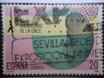 Sellos de Europa - España -  50 Aniversario de la O.N.C.E - Sevilla.