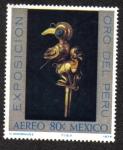 Sellos del Mundo : America : México : Exposición Oro del Perú