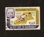 Sellos del Mundo : Asia : Yemen : QUAITI STATE IN HADHRAMAUT - Juegos Olimpicos TOKIO 1964