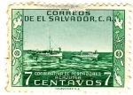 Sellos del Mundo : America : El_Salvador : cooperativa de pescadores acajutla
