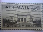 Sellos de America - Estados Unidos -  Air Mail - United States Postage.