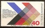 Sellos de Europa - Alemania -  10a Aniv del Tratado franco-alemán.