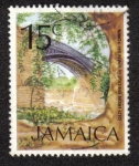 Sellos del Mundo : America : Jamaica : Old Iron Bridge in Spanish Town