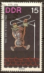 Sellos de Europa - Alemania -  Día del Niño,1964.Personajes de programas infantiles(DDR)