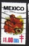 Sellos del Mundo : America : México : Hongos