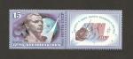 Sellos de Europa - Rusia -  XXV Aniv. vuelos cosmonautas