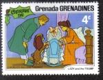 Sellos del Mundo : America : Granada : Lady and the Tramp