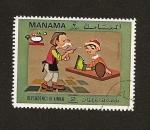Sellos de Asia - Emiratos Árabes Unidos -  MANAMA Deped. of AJMAN Cuentos Infantiles   Pinocho