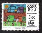 Sellos del Mundo : America : Costa_Rica : Aldeas Infantiles SOS-30 Años de Servicio