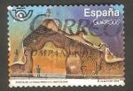 sello : Europa : España : Puerta de la Finca Miralles, en Barcelona