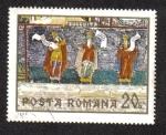 Sellos del Mundo : Europa : Rumania : Monasterio Sucevita Académicos