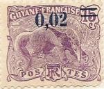 Sellos del Mundo : America : Guyana : Guyane Française