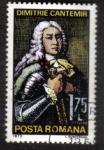 Sellos del Mundo : Europa : Rumania : Ruler Dimitrie Cantemir (1673-1723) scientist & writer