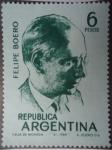 Sellos de America - Argentina -  Compositor: Felipe Santiago Boero 1884-1958
