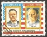 Sellos de Africa - Guinea Ecuatorial -  Theodore Roosevelt y William H. Taft