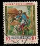 Sellos del Mundo : America : Colombia : san isidro labrador