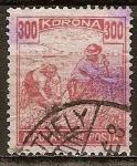 Sellos de Europa - Hungría -  Segador.