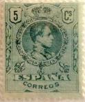 Sellos del Mundo : Europa : España : 5 céntimos 1909