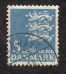 Sellos del Mundo : Europa : Dinamarca : Coat of arms