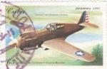 Sellos de America - Cuba -  Avión de combate II guerra mundial