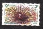 Sellos del Mundo : Oceania : Nueva_Zelanda : Sea Urchin