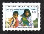Sellos del Mundo : America : Honduras :  Año Internacional de Los Voluntarios