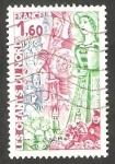 Sellos de Europa - Francia -  2076 - Gigantes del Norte