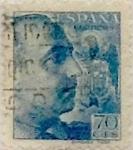 Sellos de Europa - España -  70 céntimos 1939