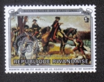 Sellos del Mundo : Africa : Rwanda : Washington en Fort Lee