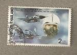 Sellos del Mundo : Asia : Tailandia : 75 Aniversario Fuerza Aerea Siam