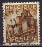 Sellos del Mundo : Europa : Bélgica : BELGICA 1948 Scott 375 Sello Promoción de la exportación Industria Quimica 1,20fr usado Michel 814