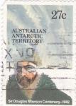 Sellos del Mundo : Oceania : Territorios_Antárticos_Australianos : Sir Douglas Mawson -Centenario