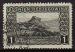 Sellos del Mundo : Europa : Bosnia_Herzegovina : BOSNIA HERZEGOVINA 1906 SCOTT 30 SELLO SERIE PAISAJES DEBOJ