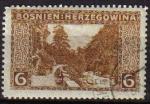 Sellos del Mundo : Europa : Bosnia_Herzegovina : BOSNIA HERZEGOVINA 1906 SCOTT 34 SELLO SERIE PAISAJES RAMA VALLEY