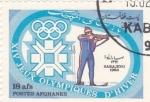 Sellos del Mundo : Asia : Afganistán : Juegos Olimpicos de invierno  Sarajevo