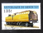 Sellos del Mundo : Africa : Benin : Steam turbine, Reid Maclead, 1920