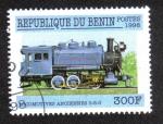 Sellos del Mundo : Africa : Benin : Locomotora 0-6-0