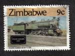 Sellos del Mundo : Africa : Zimbabwe : Locomotora No. 86, class 9,
