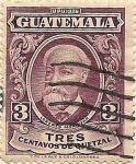 Sellos del Mundo : America : Guatemala : Lorenzo Montúfar