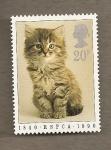 Sellos del Mundo : Europa : Reino_Unido : Protección animales domésticos