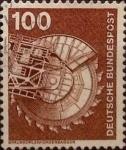 Sellos de Europa - Alemania -  Intercambio 0,20 usd 100 pf 1975