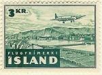 Sellos de Europa - Islandia -  Monte Strandatindur Seydisfjord