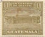 Sellos del Mundo : America : Guatemala : Edificio de correos y telegrafos nacionales