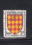 Sellos de Europa - Francia -  Escudo de armas de la antigua provincia de Angoumois