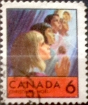 Sellos de America - Canadá -  Intercambio 0,20 usd 6 cent 1969