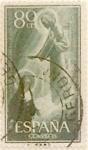 Sellos de Europa - España -  80 céntimos 1957