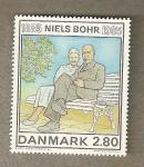 Sellos del Mundo : Europa : Dinamarca : Niels Bohr, físico