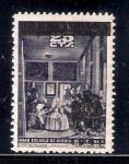 Sellos del Mundo : Europa : España : Cuadro: Las Meninas, de Velázquez
