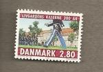 Sellos del Mundo : Europa : Dinamarca : Cuartel Guardia Real
